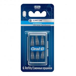 ORAL-B ершики сменные конические для межзубной щетки