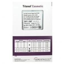 Эстетичные дуги с покрытием Titanol Cosmetic  (Титанол С)